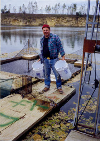Jim frey fish hatchery in northeast iowa for Iowa fish hatcheries